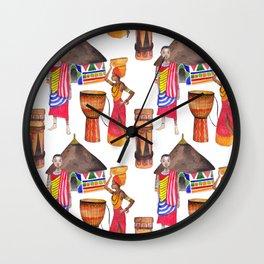 Wild Africa #6 Wall Clock