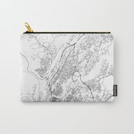 Minimal City Maps - Map Of Chattanooga, Tennessee, United States Carry-All Pouch