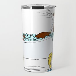 Floyd Pampers Himself Travel Mug