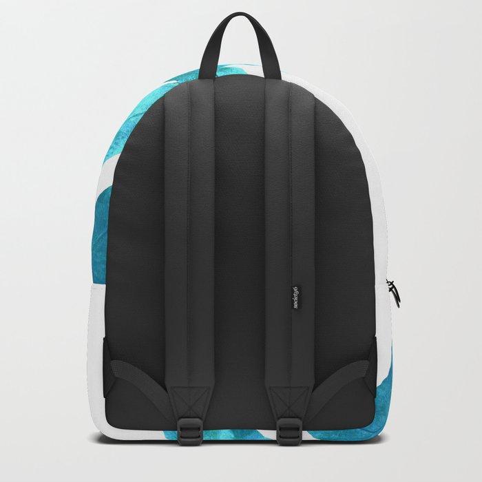 Ocean Blue Fern Backpack
