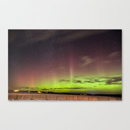 Silence of NorthernLights Canvas Print