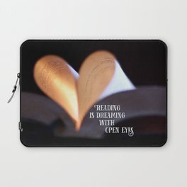 Reading is Dreaming Laptop Sleeve