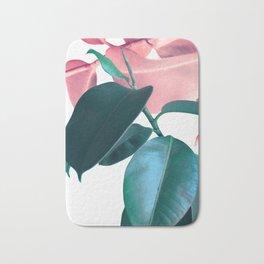 Plant Leaves Bath Mat
