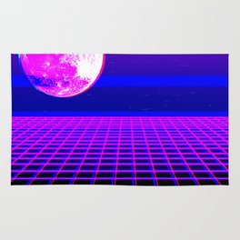 Once In A Neon Moon Rug