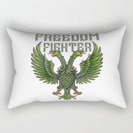 Freedom Fighter Rectangular Pillow