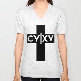 CY|XV Cross (Inverse) Unisex V-Neck