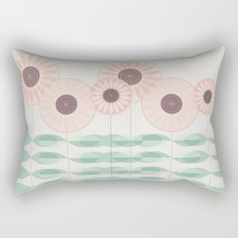 Blushing garden Rectangular Pillow