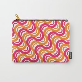 refresh curves and waves geometric pattern Carry-All Pouch