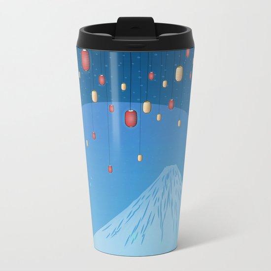 Catching Fireflies Metal Travel Mug