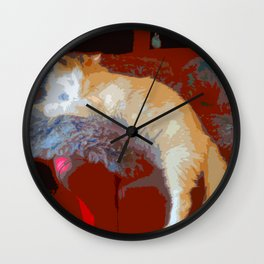 Just Chilling... Wall Clock