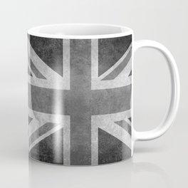British Union Jack flag in grungy tex Coffee Mug