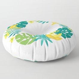 Banana tropical Floor Pillow