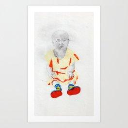 Dollface Art Print
