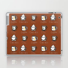 Hot Drinks (Brown) Laptop & iPad Skin