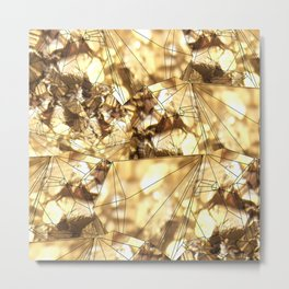 Gold Rocks! Metal Print
