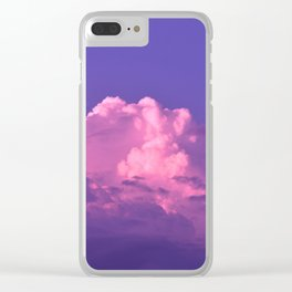 Cloud of Dreams Clear iPhone Case