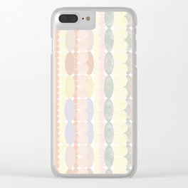 Strands of Pearls Clear iPhone Case