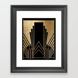 Art deco design Framed Art Print