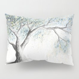 Gentle Frost Tree Pillow Sham