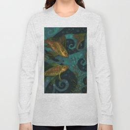 Golden Fishes Long Sleeve T-shirt