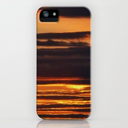 Golden Linings Sunset iPhone Case