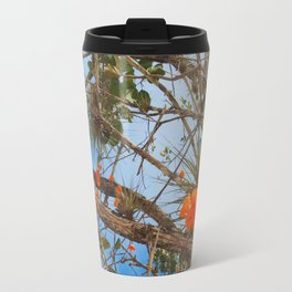 Flowers at Chichen Itza Travel Mug