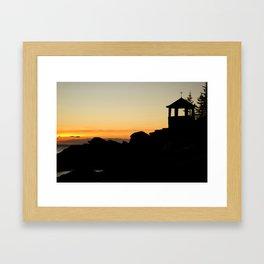 Christmas Cove  Framed Art Print