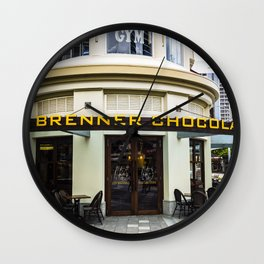Chocolate Bar Shop Wall Clock