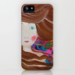 Inky Windy iPhone Case