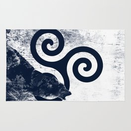 Triskele and The Wolf Rug