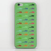 saxophone iPhone & iPod Skins featuring Saxophone by Fabian Bross