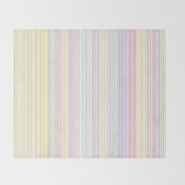Happy Dream -Elegant Colorful stripe- Throw Blanket