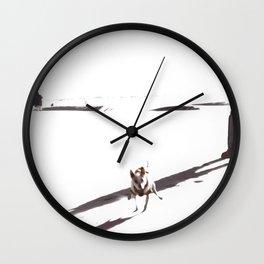Ghost Walk Wall Clock