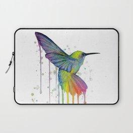 Hummingbird Watercolor Laptop Sleeve