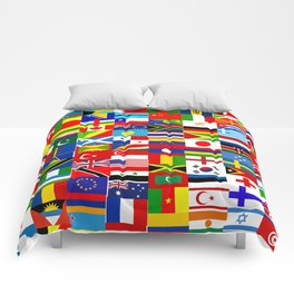Flag Montage Comforters