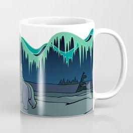 Tribal Bear Art Coffee Mug