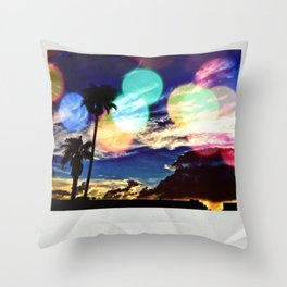 A Polaroid Throw Pillow