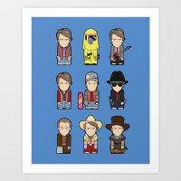 Marty McFly Art Print