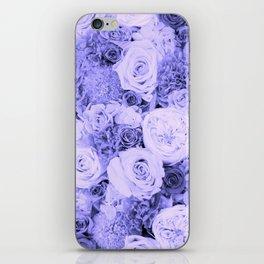bouquet ver.blue-b iPhone Skin