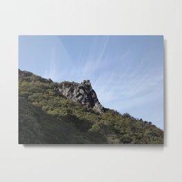 Mt. Tamalpais Rocks Metal Print