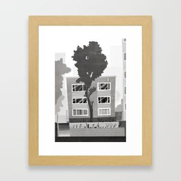 Places I've Lived Series - 8 Framed Art Print