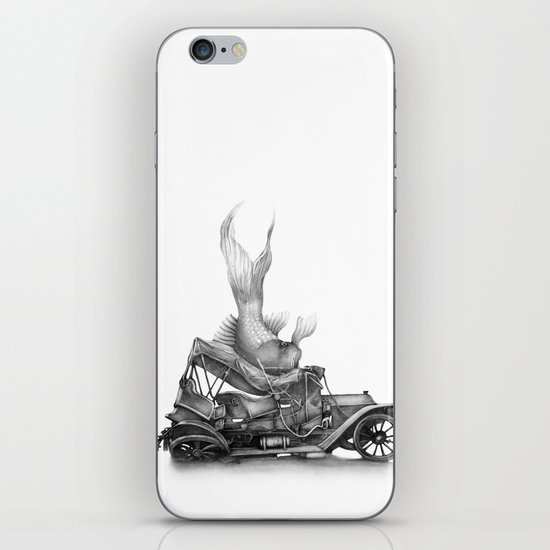 In which a goldfish spoils an outing iPhone & iPod Skin