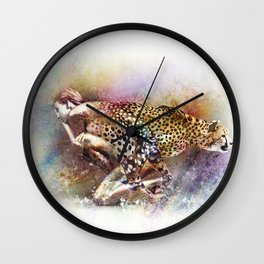 D'apparence sauvage Wall Clock