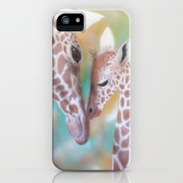 Love Is All Around Us iPhone Case