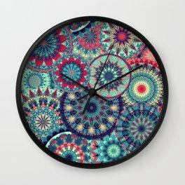 Mandala (Floral 1) Wall Clock