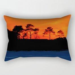 Frozen Glow Rectangular Pillow