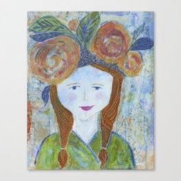 Warrior Spirit Alyssa Canvas Print