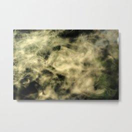 Smoke gets in your eyes. Metal Print