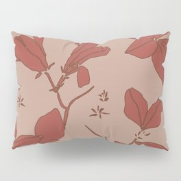 Delicate Floral, Stone Crop Garden, Earth and Rose Pillow Sham