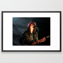 Alison Mosshart // The Kills Framed Art Print